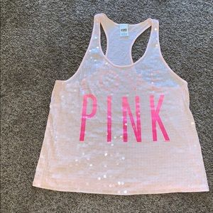 Victoria's Secret PINK Racerback Tank